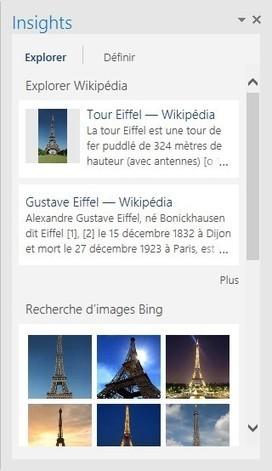 Outlook 2016 – Recherches dans Bing sans quitter Outlook | Médiaforma | gestion temps, outlook, lotus notes | Scoop.it
