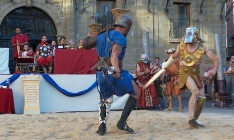 La Munera Gladiadora da comienzo a la gran fiesta de recreación de Astorga | LVDVS CHIRONIS 3.0 | Scoop.it