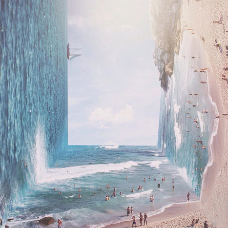 Inception-Like Gravity Defying Landscape Photos By Indonesian Artist | Inspired By Design | Scoop.it