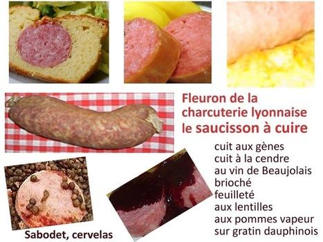 Recette de saucisson à cuire au vin rouge, champignons (Beaujolais) | Recettes de cuisine maison | Scoop.it