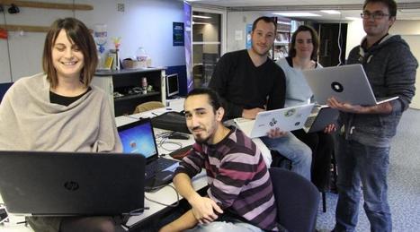 Lannion. Ils investissent leur nouvel espace de travail partagé | Incubateurs d'entreprises innovantes | Scoop.it