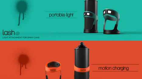 Graffiti artists could tag better at night with this spray can light | Daily Magazine | Scoop.it