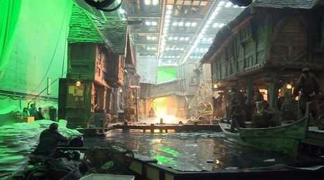 The Hobbit Desolation of Smaug : Behind the Scenes - VFX | 'The Hobbit' Film | Scoop.it