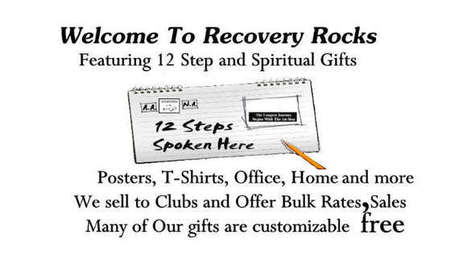 Recovery Rocks: Home: Zazzle.com Store | Alcoholics Anonymous Gifts | Scoop.it