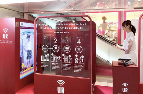 In Japan, Urban Research Experiments with Virtual Changing Booths | Pricing Mart | News | Scoop.it