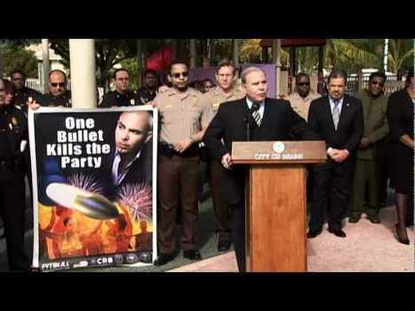 Miami leaders and Pitbull urge 4th of July revelers to celebrate gun-free (VIDEO) | The Billy Pulpit | Scoop.it