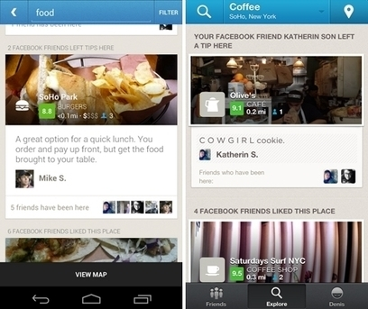 Foursquare Adds Recommendations From Facebook Friends To Its Explore Feature - AllFacebook | Social Media Mash-Up! | Scoop.it