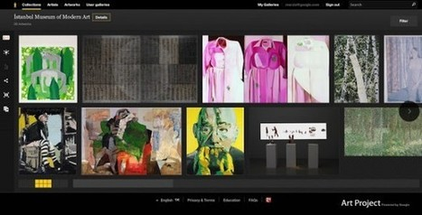 Le Google Art Project accueille de nouvelles oeuvres accessibles en ligne | Clic France | Scoop.it