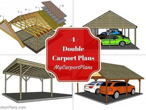 4 Free Double Carport Plans | Carport plans | Scoop.it