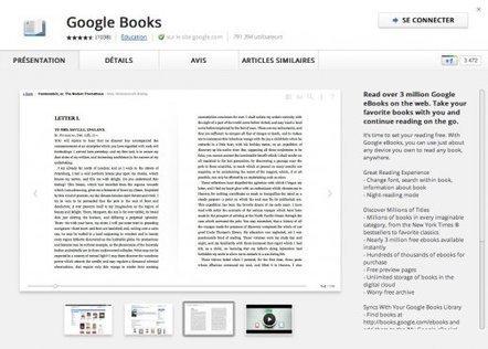 Lire un bouquin hors-ligne sous Chrome, c'est possible | toute l'info sur Google | Scoop.it
