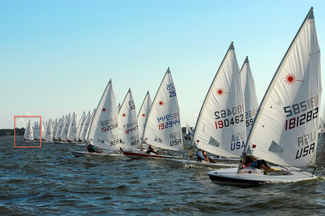SailFast13: Find the hole, hit it hard and hold your lane- Starting in a Laser fleet. | Sailing articles for IBRSC | Scoop.it