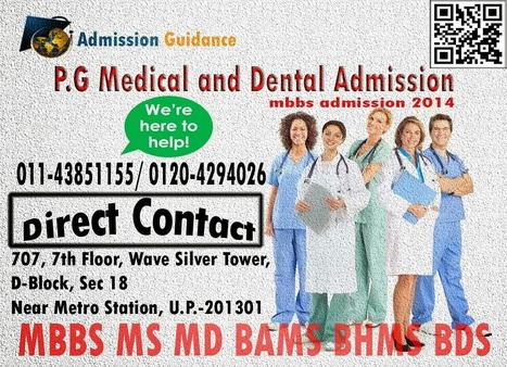mbbs admission 2014 ~ Admission Guidance Delhi | Admission Guidance Delhi | Scoop.it