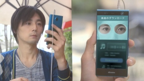 Japanese smartphone lets you pay for things with your eyes | Technologies in ELT | Scoop.it