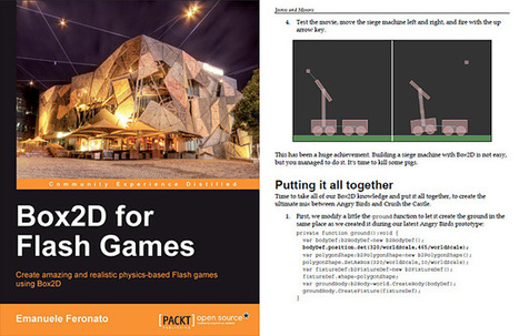 Box2D for Flash Games book is on the shelves! - Emanuele Feronato | Everything about Flash | Scoop.it
