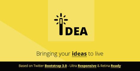 Idea   Multipurpose Html Template (Marketing)   Site Templates Download   Scoop.it