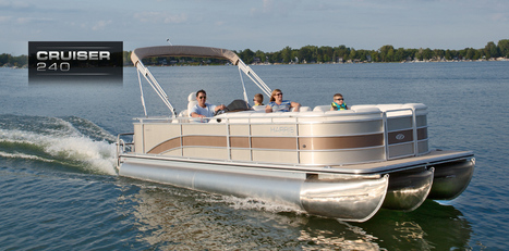 Cruiser 240: Harris FloteBote Pontoon Boat   Party Boats   Deck Boats for Sale : 2014   Pontoon Boat   Scoop.it