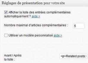 Yet Another Related Posts Plugin : pour doper le nombre de pages vues et le SEO | Actualité du marketing digital | Scoop.it