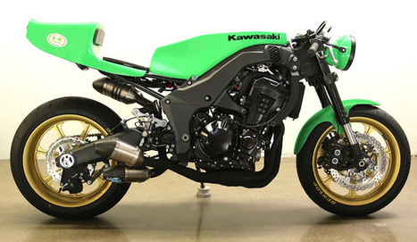 2012 Kawasaki Z1000 Cafe Racer ~ Grease n Gasoline | Great Bikes | Scoop.it