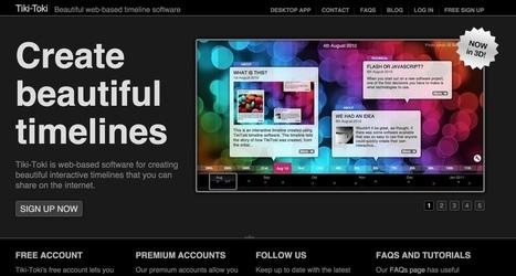 3 outils en ligne pour créer des timelines | Les outils du Web 2.0 | Scoop.it