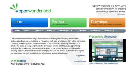 Diseño de mundos virtuales con Open Wonderland | Escenarios educativos 2.0 | Scoop.it
