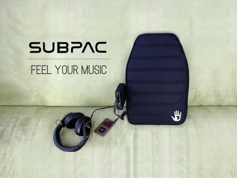 SubPac : ressentez la musique avec votre corps au lieu de simplement l'entendre | Actinnovation© | GADGETS HITECH | Scoop.it