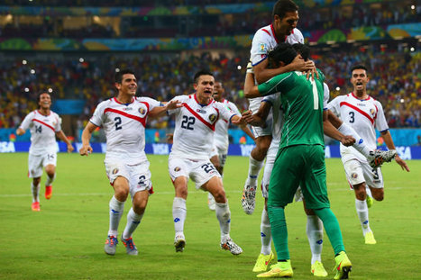 Costa Rica beat Greece on penalties to meet Holland in quarter-finals | FIFA World Cup - Brazil 2014 | Scoop.it