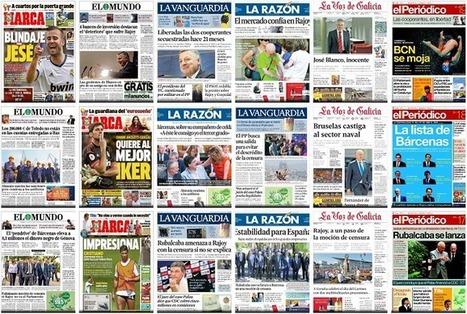 Las mejores webs de portadas de periódicos   EnVrac   Scoop.it