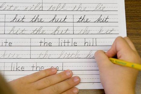En Californie, l'écriture cursive appartient au passé | Think outside the Box | Scoop.it