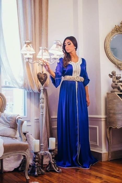 Caftan Haute couture : Boutique Caftan Marocain - Vente Caftan Takchita en Ligne: Caftan 2014 Nouvelles Tendances- Caftan Marocain en Ligne | Caftan 2014 | Scoop.it