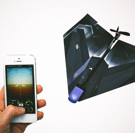Pilot any paper airplane from your phone | Startups | Scoop.it
