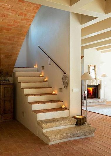 Escaleras r sticas sue a sco - Escaleras de madera rusticas ...