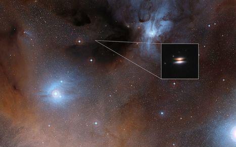 Des grains étonnamment froids découverts dans un disque protoplanétaire | Beyond the cave wall | Scoop.it