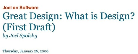 What is Design? | UXploration | Scoop.it