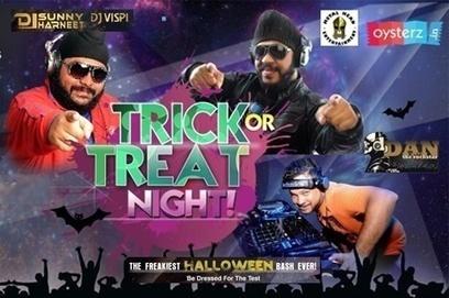 Oysterz Presents Halloween Trick & Treat Night Party in Pune at 18 degrees, Halloween Party in Pune - Oysterz.in | Nightlife Events in Pune,DJ Party in Mumbai, Nightclubs in Pune | Scoop.it