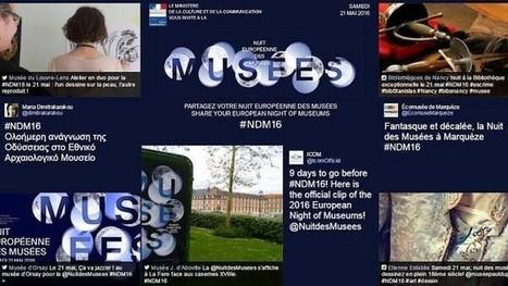 La Nuit des musées 2016 spécial geek : applis, visites virtuelles, sites… - Geek Junior -   Clic France   Scoop.it