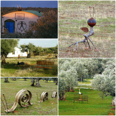 Recycled Sculptures in Spain Theme park   Recyclart   DIY & Crafts   Scoop.it