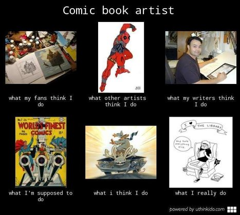 Comic Book Artist | What I really do | Scoop.it