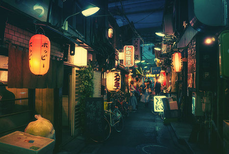 Magical Night Photography Of Tokyo's Streets by Masashi Wakui | Instantanés | Scoop.it