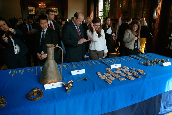 United States government returns Iraq treasures as Islamic State threatens heritage | Art Daily | Kiosque du monde : Asie | Scoop.it