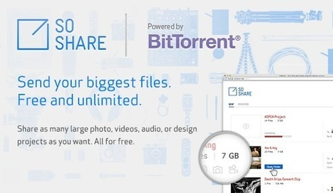 SoShare :  Send Terabyte-Sized Email Attachments | Le Top des Applications Web et Logiciels Gratuits | Scoop.it