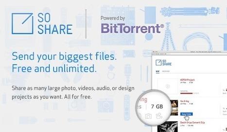 SoShare :  Send Terabyte-Sized Email Attachments | Coup de coeur, coup de rire | Scoop.it