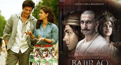 Bajirao Mastani vs Dilwale trailer: A close fight to be the best | Entertainment News | Scoop.it