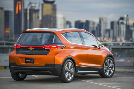 Chevrolet Bolt Starts the Clock on Mainstream Electric Vehicles in U.S. | Green Geek News | Scoop.it