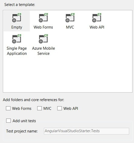 Your First Angular Project in Visual Studio   Angular First   News de la semaine .net   Scoop.it