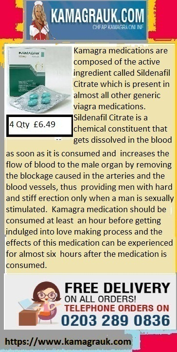 Kamagra 100 providing men with hard and stiff erection only sexually stimulated | Kamagra male Impotent | Scoop.it