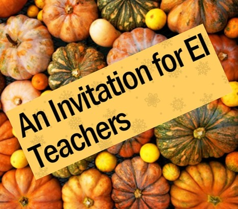 An Invitation for EI Teachers @OaklandSchools | SSW Professional Development and Learning | Scoop.it