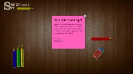 Een leuk en gratis online Sinterklaas Spel voor op het digibord ...   ICT Nieuws   Scoop.it