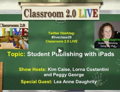 Student Publishing Using the iPad | iPad & Literacy | Scoop.it