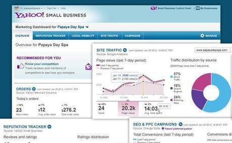 Yahoo Woos Small Biz with Marketing Dashboard | ClickZ | Search Engine Marketing Trends | Scoop.it