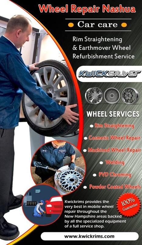 Rim Repair Solution To Save Rim Damages   Aluminium Wheel Repair   Scoop.it